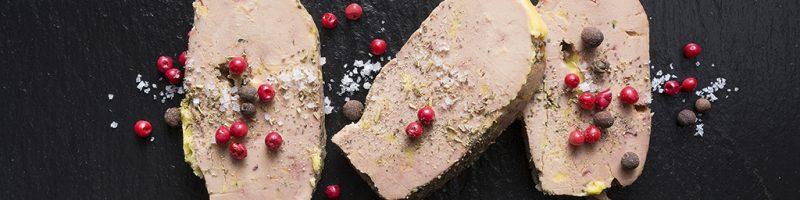 Tranche de Foie gras sur Ardoise